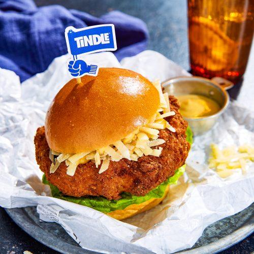 Tindle Buttermilk Fried TiNDLE Burger